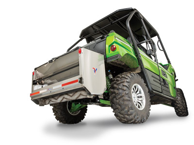 SA250 Spreader on a Utility Vehicle - Universal mount for a variety of vehicles