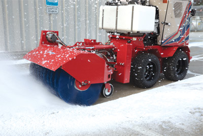 SSV Broom Sidewalk Snow