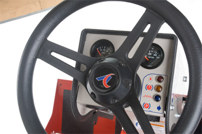 Ventrac 3000 Series - steering wheel