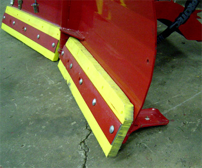 Ventrac V-Blade Edge - Optional Polyurethane Edge