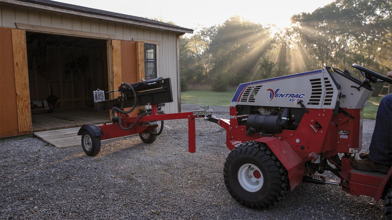 Ventrac Trailer Mover HH150, Easiest way to move trailers