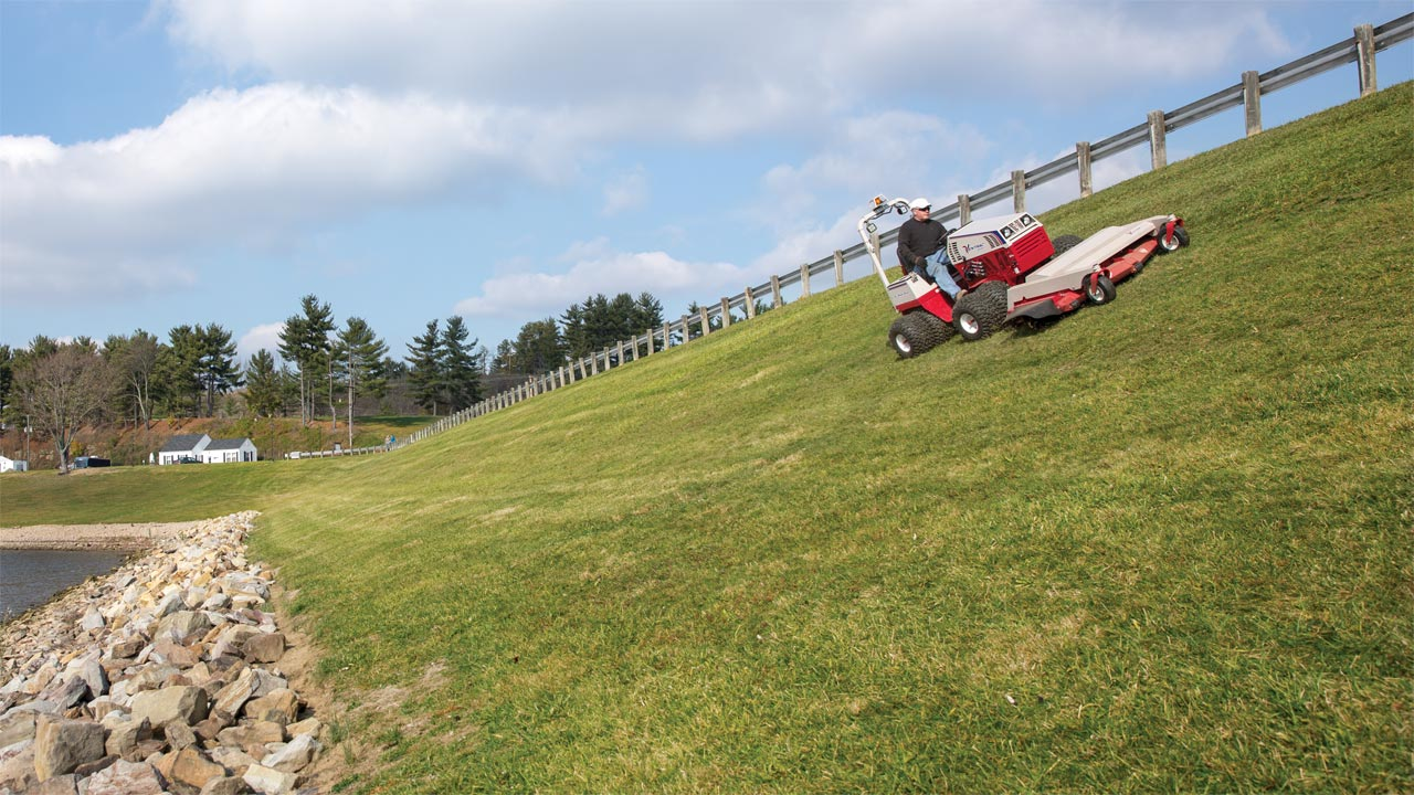Ventrac Slope Mower
