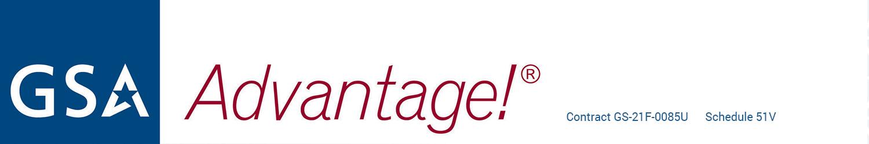 GSA Advantage Logo CONTRACT GS-21F-0085U Schedule 51V
