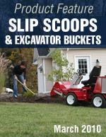Slip Scoops & Excavator Bucket