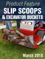Slip Scoops & Excavator Bucket