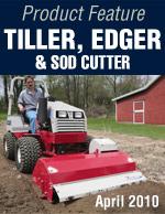 Tiller, Edger, & Sod Cutter