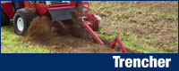 Trencher for trenching