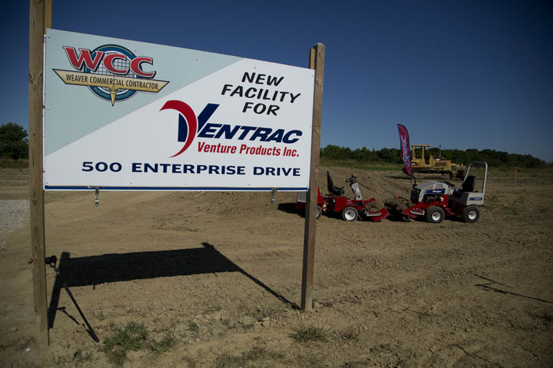 Site of the New Ventrac Facility