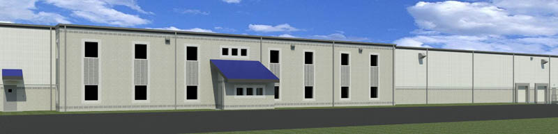 Rendering of New Facility