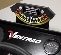 Ventrac Slope Degree Indicator 70.4135