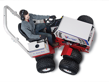 Center Articulating Tractor