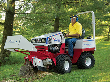 Stump Grinder for bothe the Ventrac 4500 & 3400