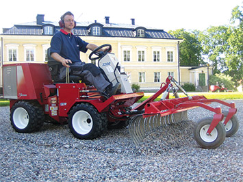 The Ventrac KP540 Power Rake