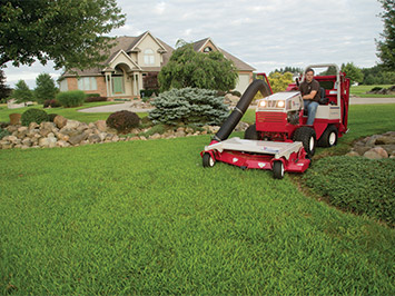 Lawn and Leaf Vacuum Collection System - Ventrac RV602