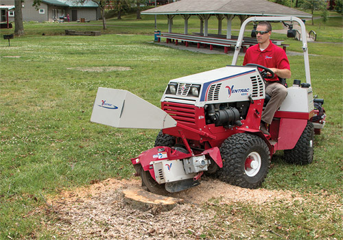 Stump Grinding - Light Footprint