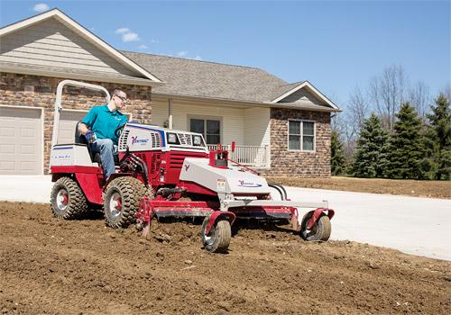 Quickly Prepare New Lawn Installation