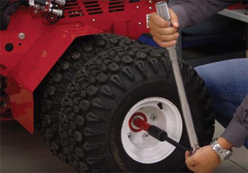 Dual Wheel Installation