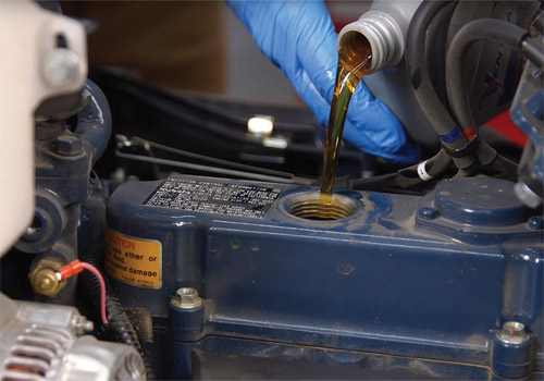 Engine Oil Service