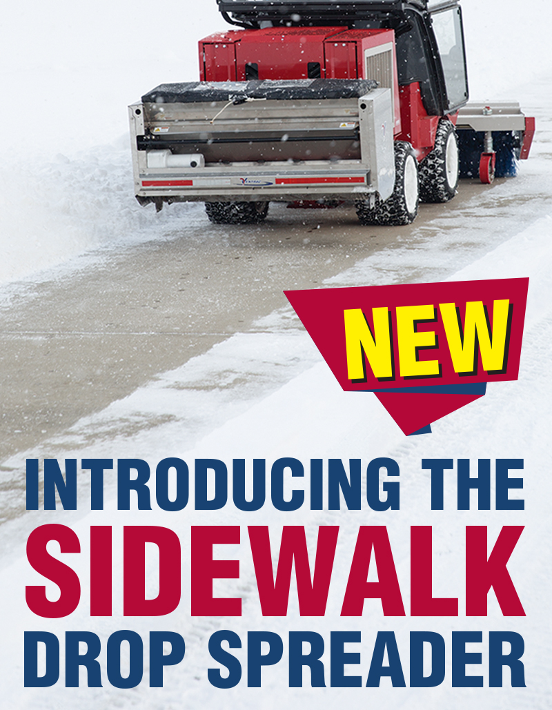 Introducing The New Sidewalk Drop Spreader