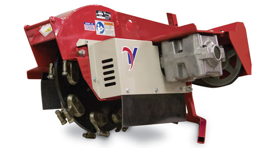 Updated Features on the KC180 Stump Grinder