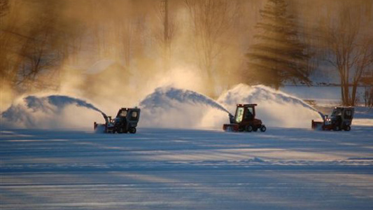 Ventrac Superb for Ice Rink Perfection at Canada Hockey Championships