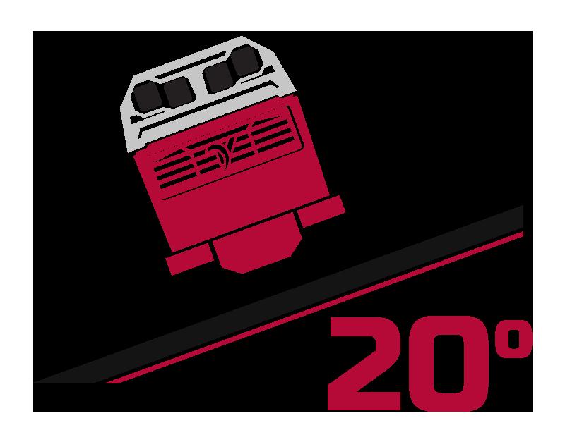 20 Degree Slope